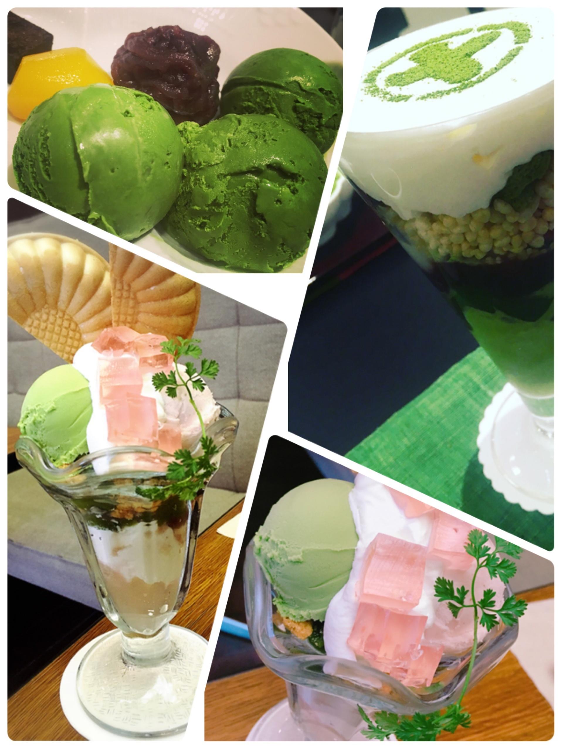 京都に行ったら食べたい2大パフェ。やっぱり抹茶パフェは外せない〜_13