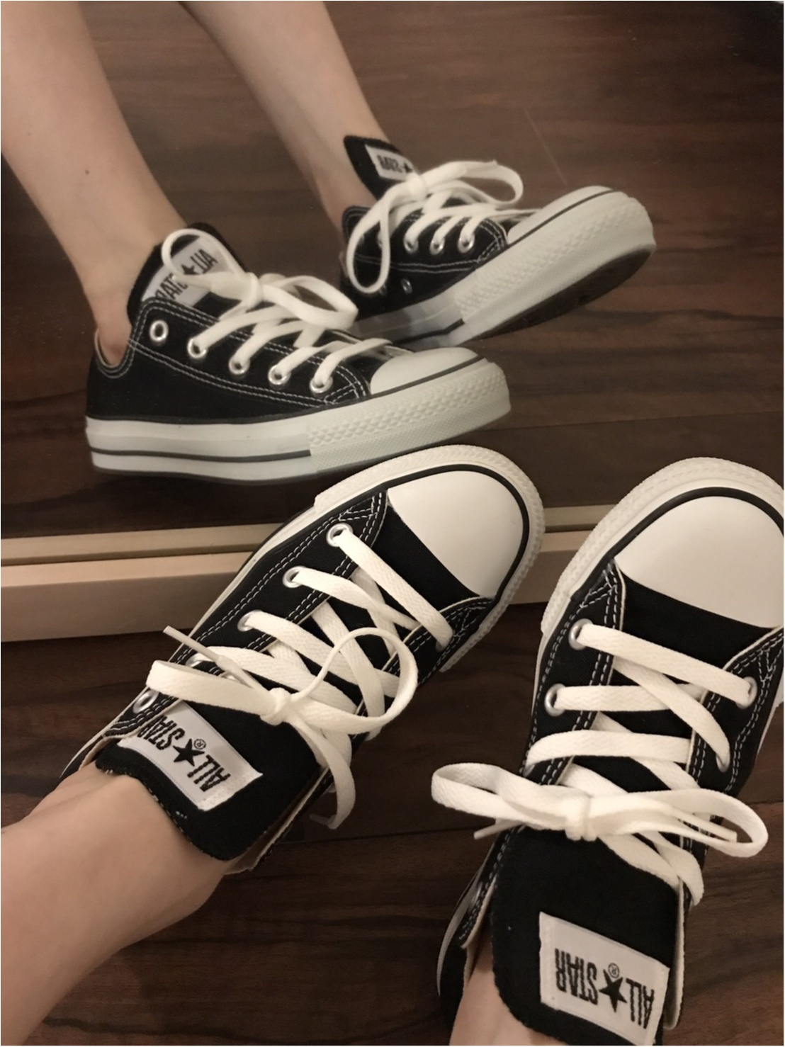 本日のZARAコーデ 靴を変えるだけでイメージもかわる!_3