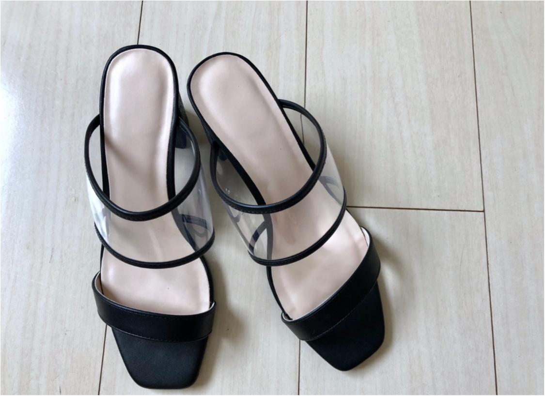今年のトレンド《PVCサンダル》❤️私はプチプラ【GU】で万能な1足をゲットしました!_2