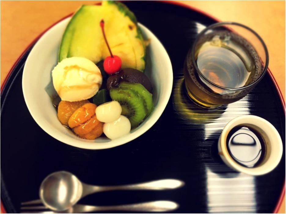 日本橋に行ったら食べたい。老舗の絶品クリームあんみつ_10