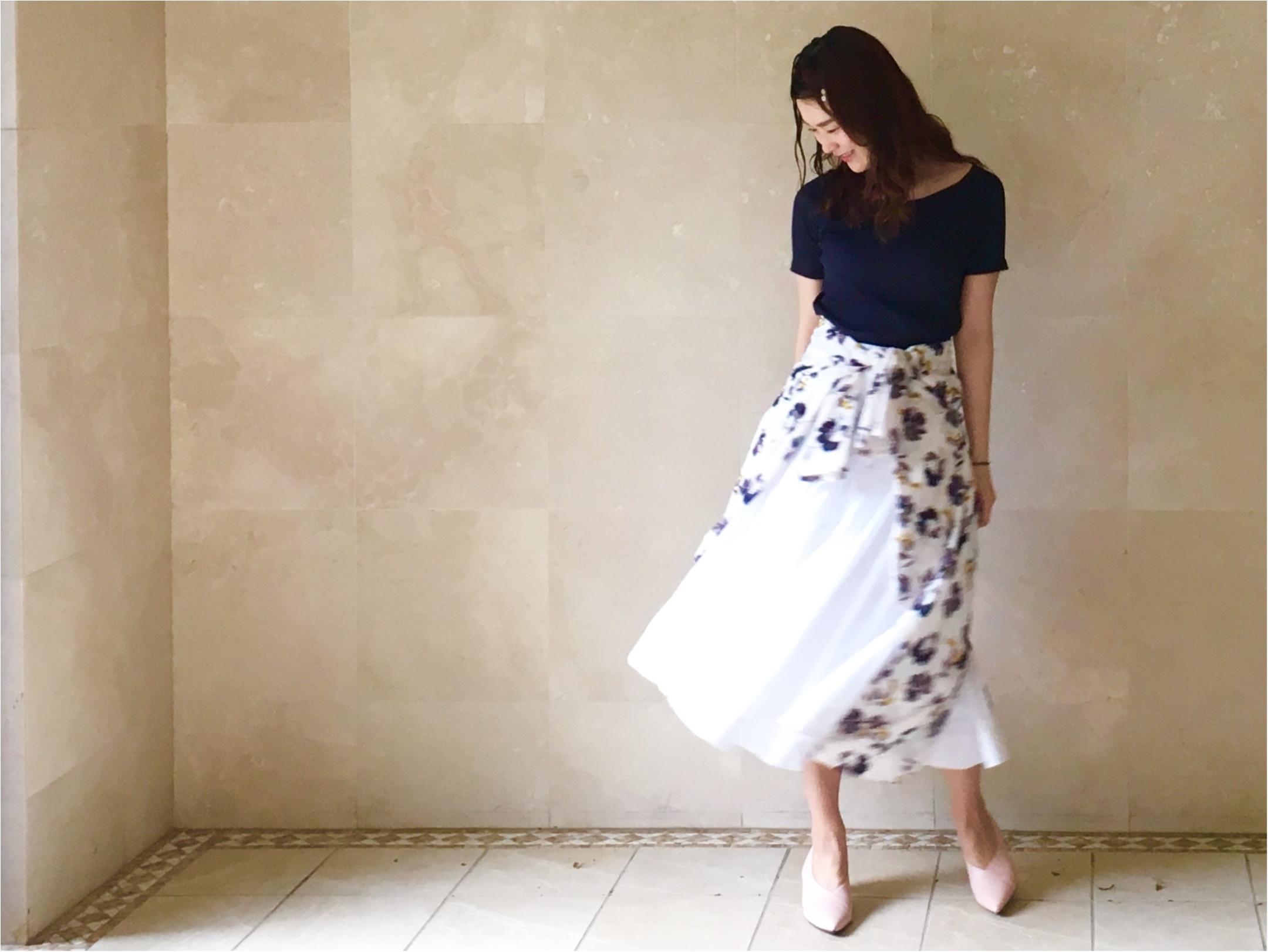 【UNIQLO】シワになりにくいからお手入れ楽チン❤️《美シルエットの優秀スカート》3選!_6