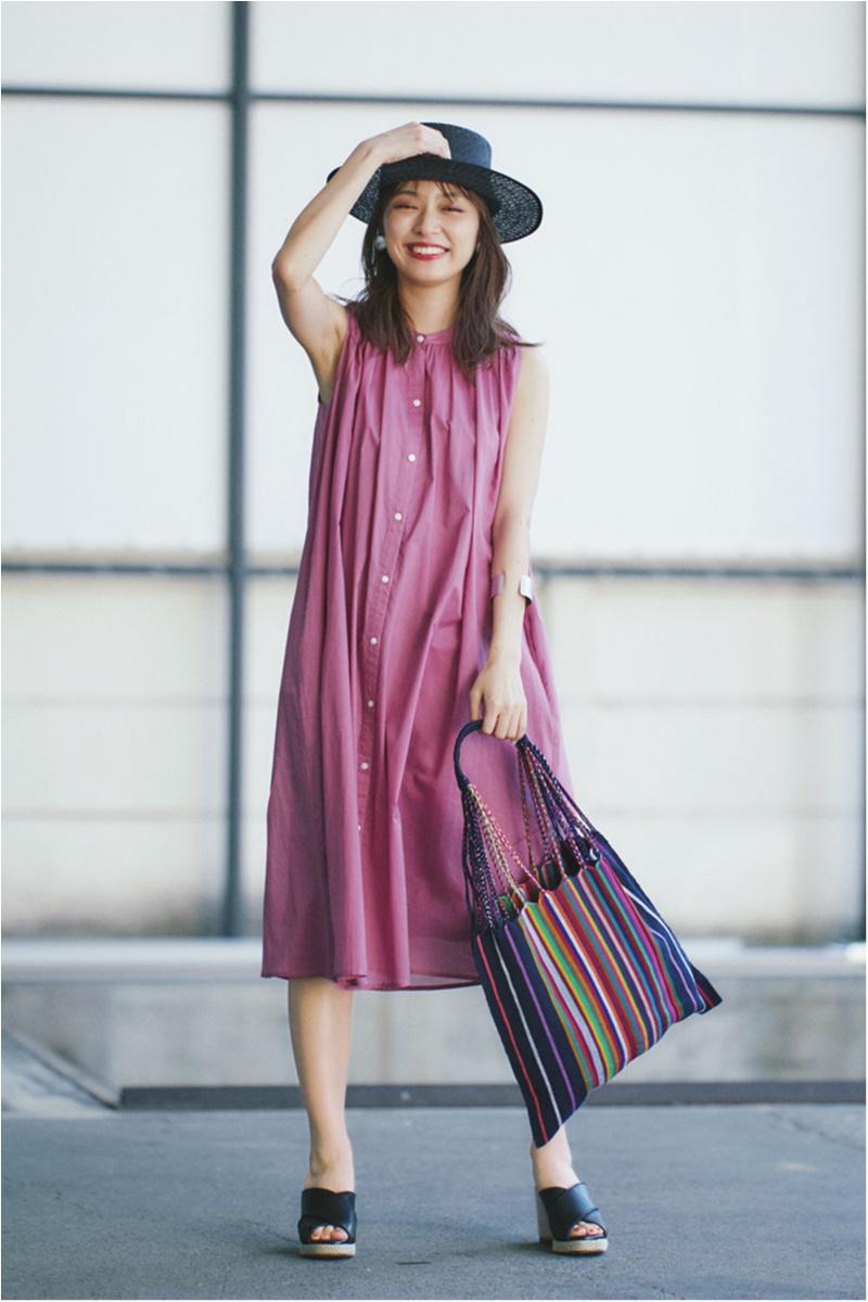 日焼け防止のマストアイテム 【帽子】の今どきコーデ15選   ファッションコーデ_1_2