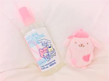 ▽・ω・▽サンリオ×キレイモ コラボ化粧水がかわいくて使える!