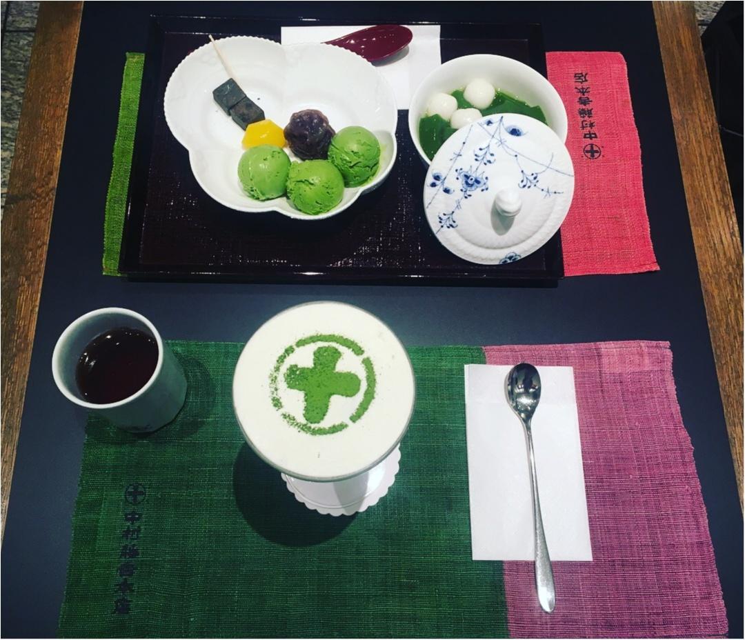 京都に行ったら食べたい2大パフェ。やっぱり抹茶パフェは外せない〜_4