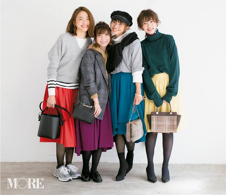 【読者変身】無難、甘すぎ、いつも同じ……きれい色スカートのお悩み、スタイリスト高野さんが解決します☆_1