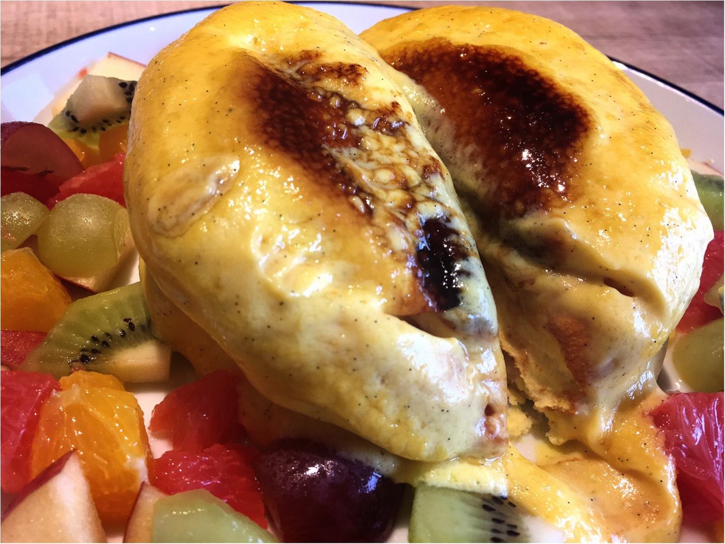 【武蔵小杉】とろぉ〜ふわぁ〜。雑誌で見かけて食べたかったクリームブリュレパンケーキ!_4