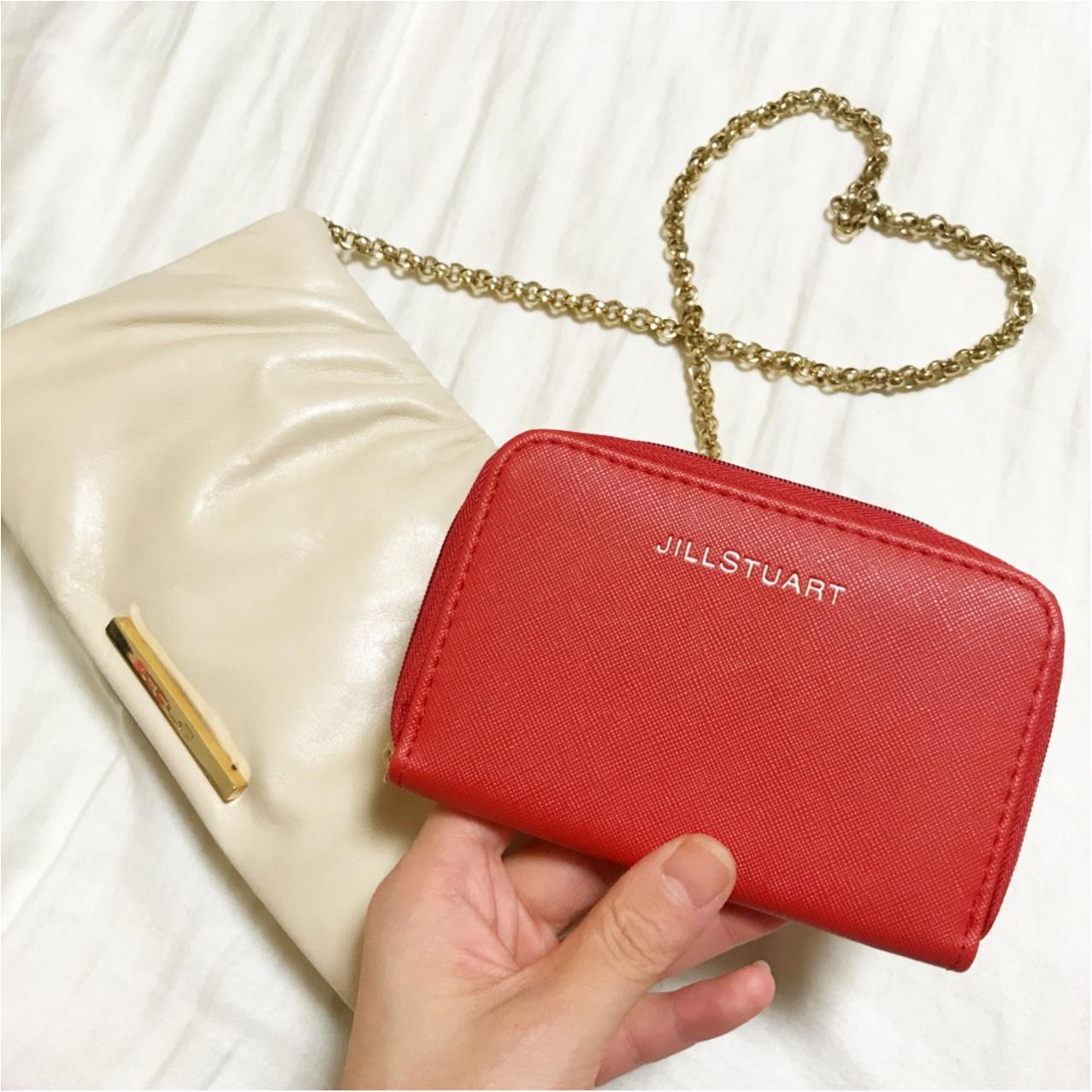 MORE12月号付録【JILLSTUART レザー調レディなミニ財布】が可愛い&使えるっ♡_3