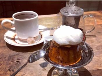 麹町の小さなカフェで食べられる♡レトロなビジュアルがオシャレでおいしいプリン!