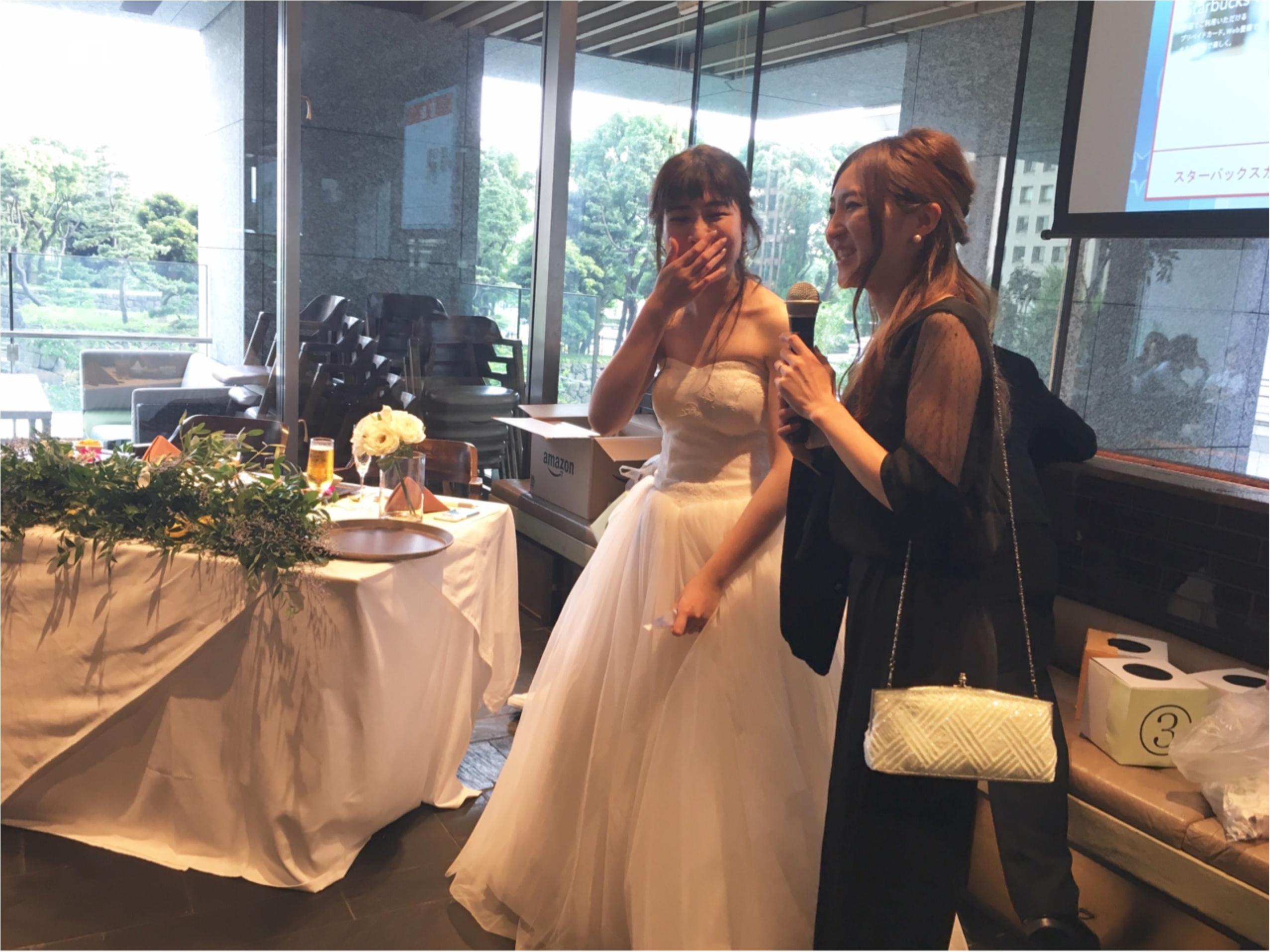 【二次会】MOREインフルエンサーNo.600 asuちゃんの結婚式レポ❤︎_6