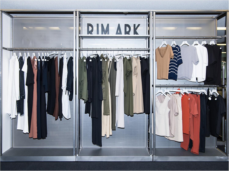 シンプルの中にこだわりを詰め込んだ『RIM.ARK』プレスルームに突撃! ディレクター・中村真里さんが魅力を語ります♡_2