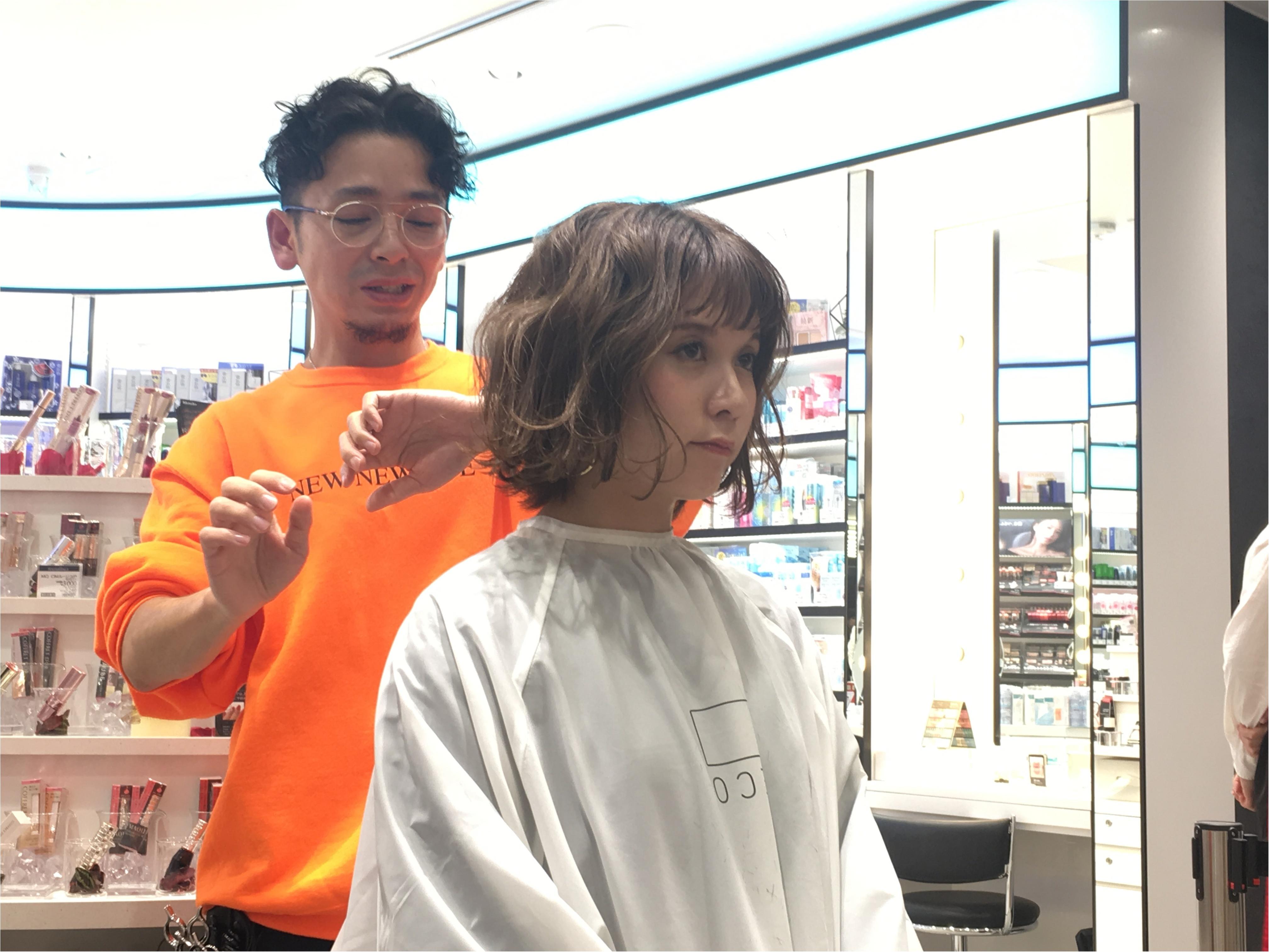 【銀座BeautyU】ヘアスタイリングセミナーでマンネリ解消!?_6