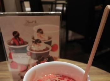 【リンツショコラカフェ】期間限定のホットチョコレートドリンク