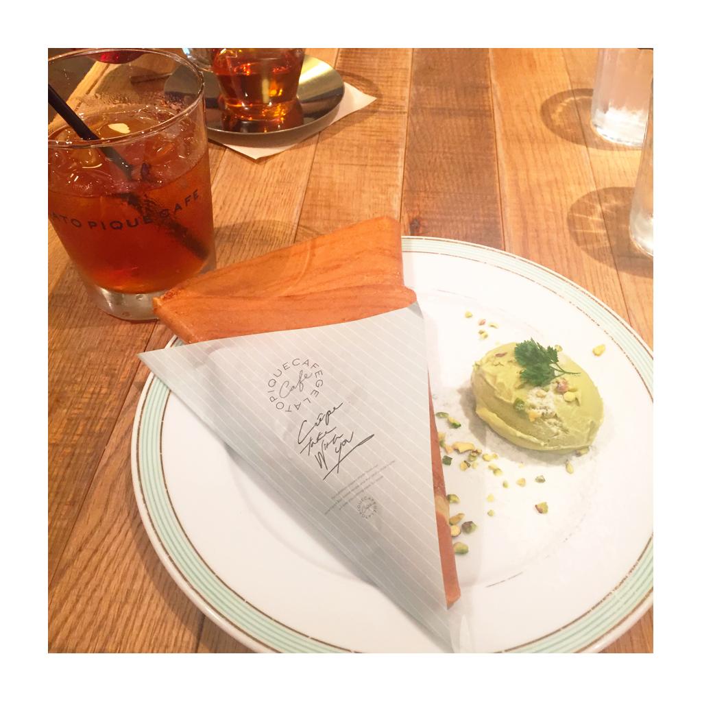 *Royal Garden Cafe*gelato pique cafe*_2