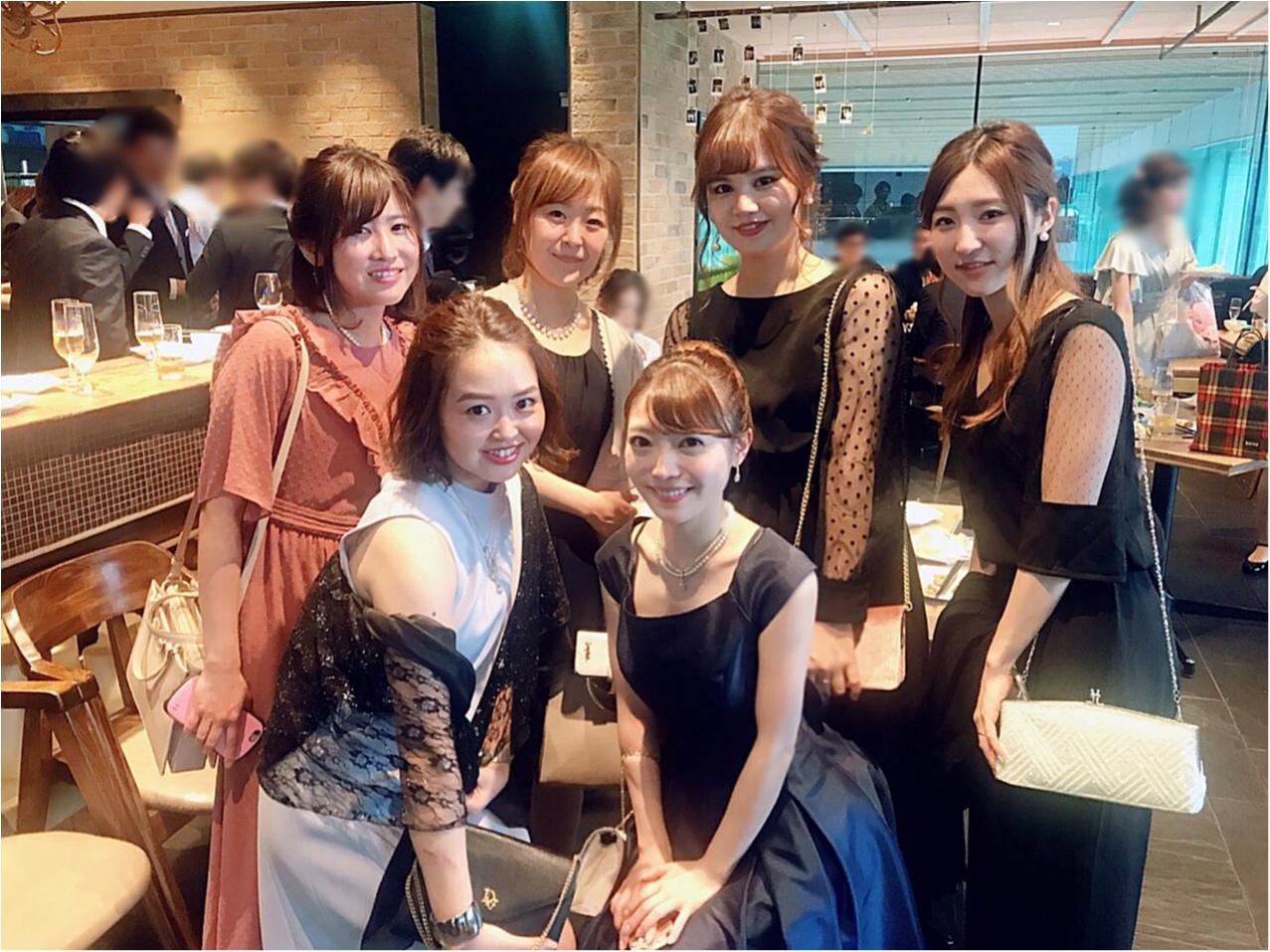 【Happy wedding❤︎】モアハピ部同期の結婚式にみんなで参加してきました!!挙式から二次会まで写真たっぷりでレポートします♡_10