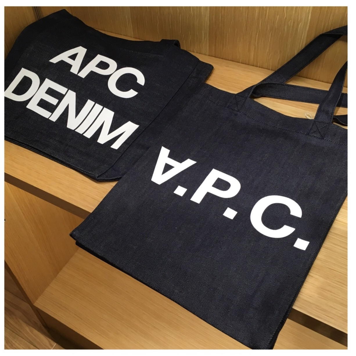 【今日から♡】A.P.C.限定バッグ&ウォレットが新宿タカシマヤで発売開始‼︎_5