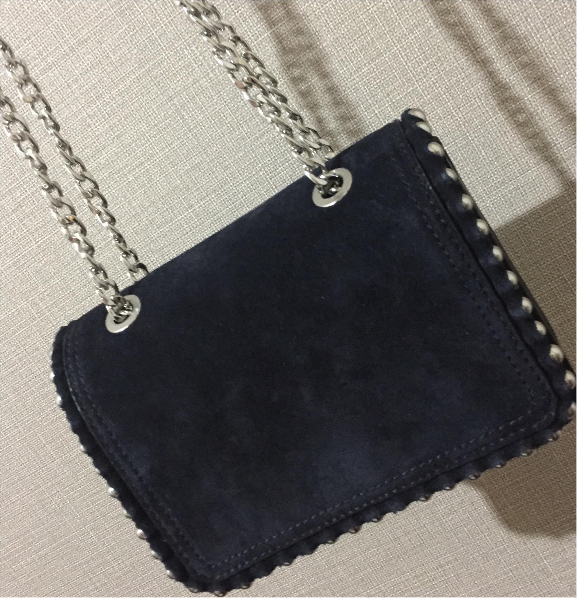 やっぱり秋冬も『ZARA』が最強に可愛い❤︎カジュアルに使えるチェーンバッグをGETしてきました!_2_1