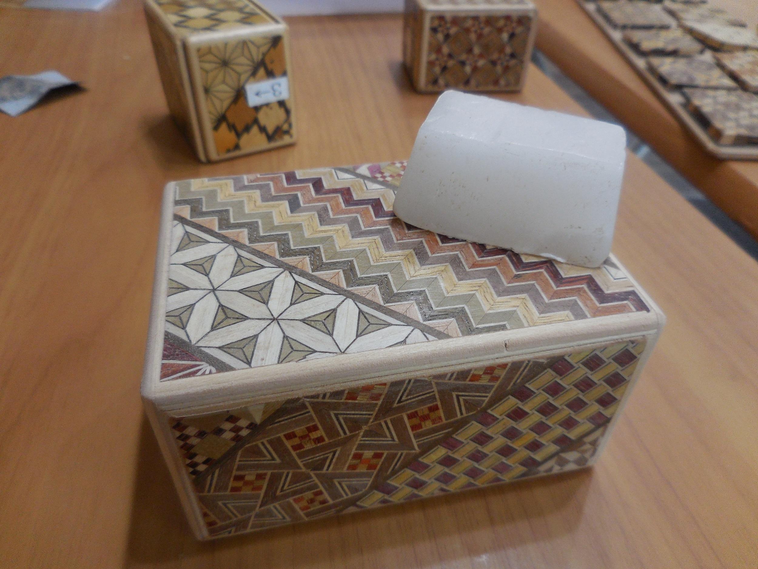 【箱根・寄木細工】秘密箱の工作体験をしてきました。_5