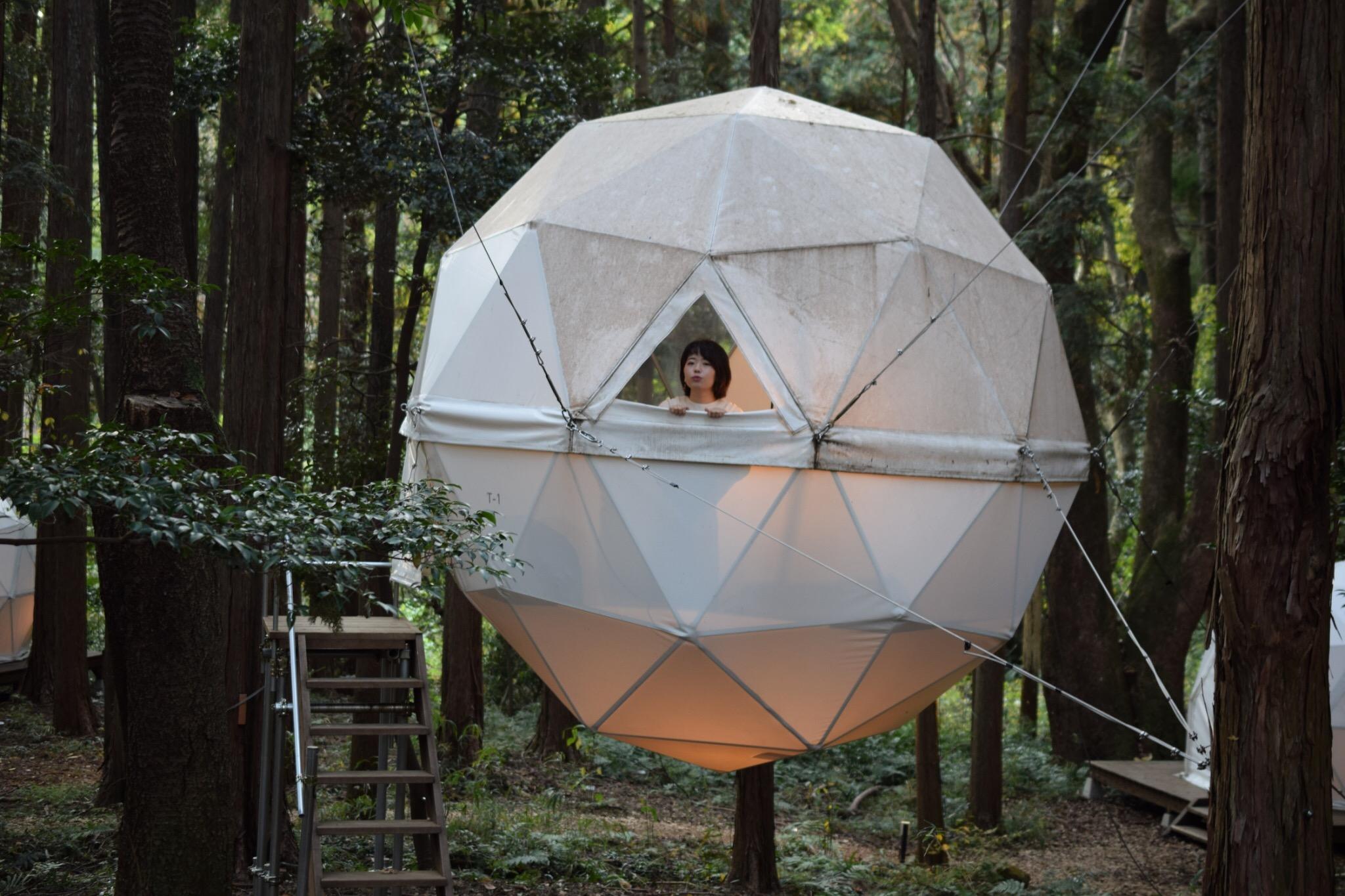 【グランピング】森に浮かぶテントに泊まれちゃう♡《INN THE PARK》@沼津_5