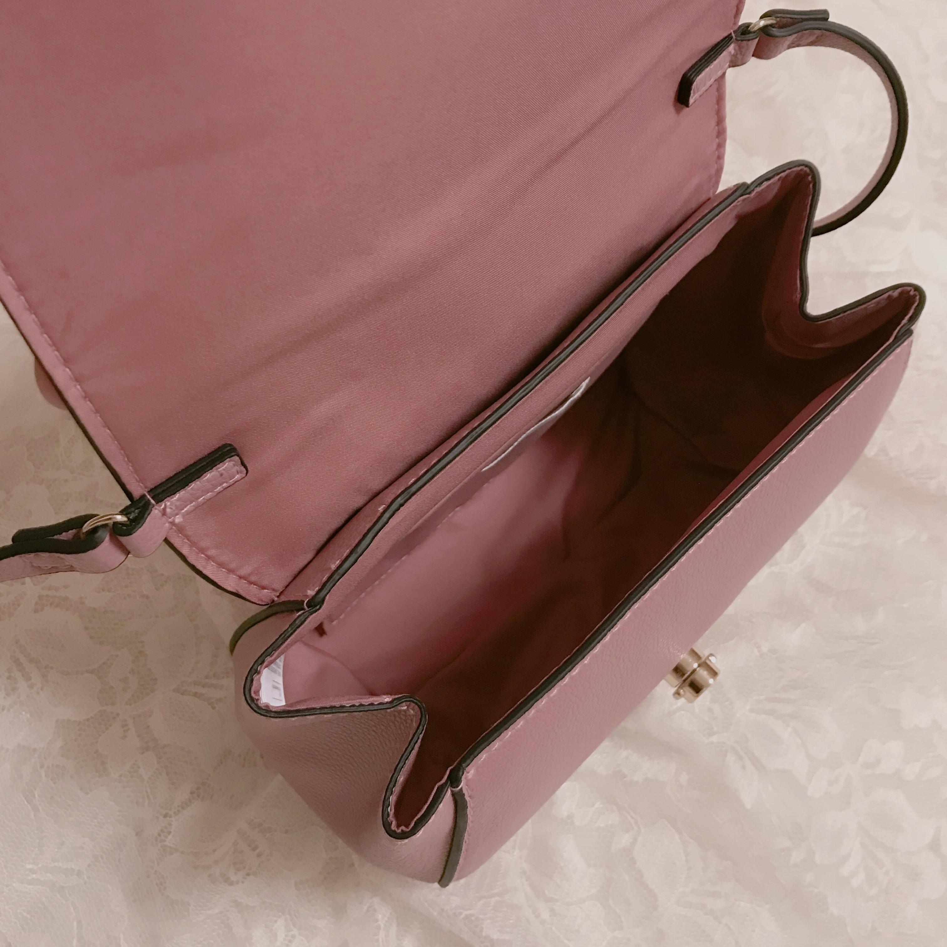 【H&M】ショルダーバッグが2000円以下❤︎プチプラなら挑戦しやすいアクセントカラーがおすすめ!_3