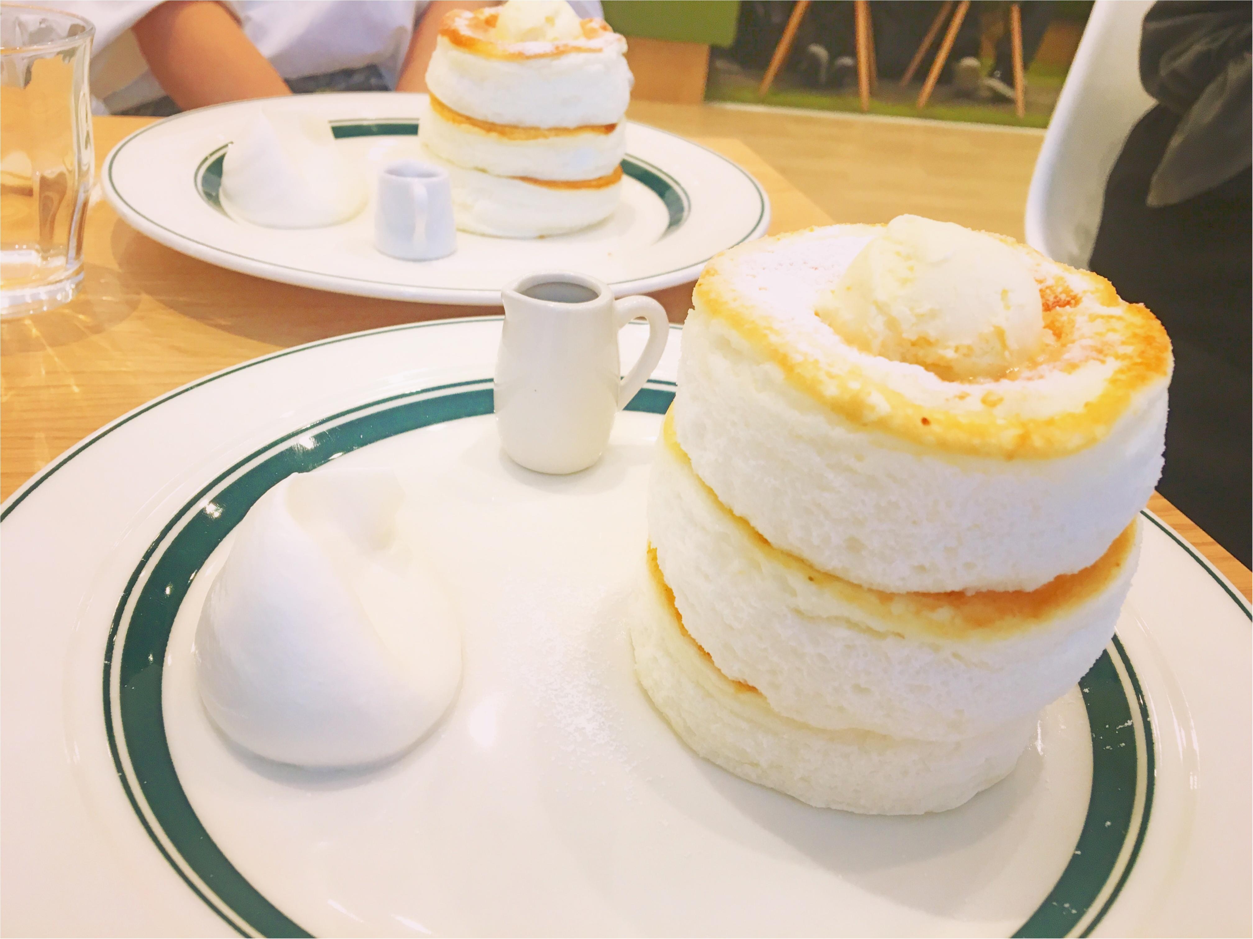 ふわふわグラムのパンケーキ♪_1