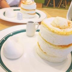 ふわふわグラムのパンケーキ♪