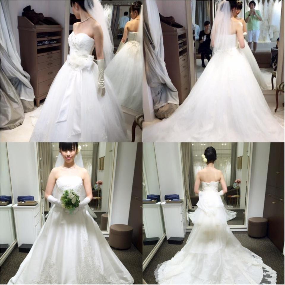 人生初のウエディングドレス/人生初の俺のフレンチ table taku_1