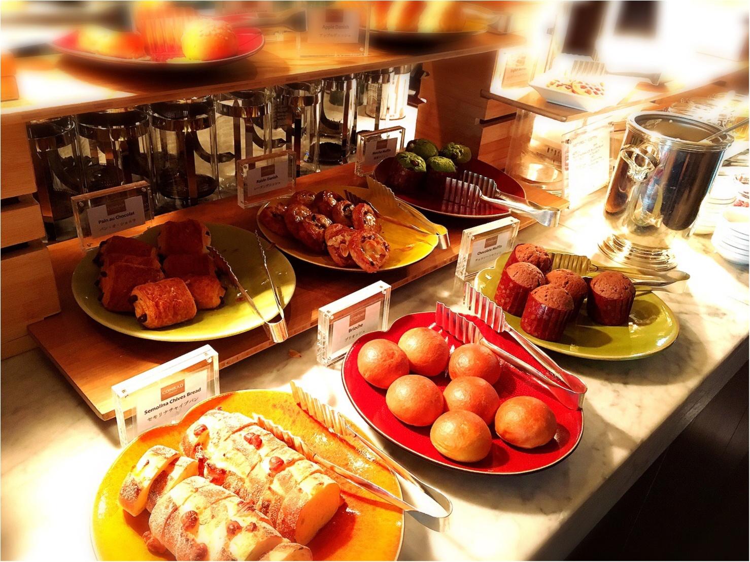 平日お休みをとっていこう!コンラッド東京の朝食ビュッフェが最高。4347円→3500円で♡_16