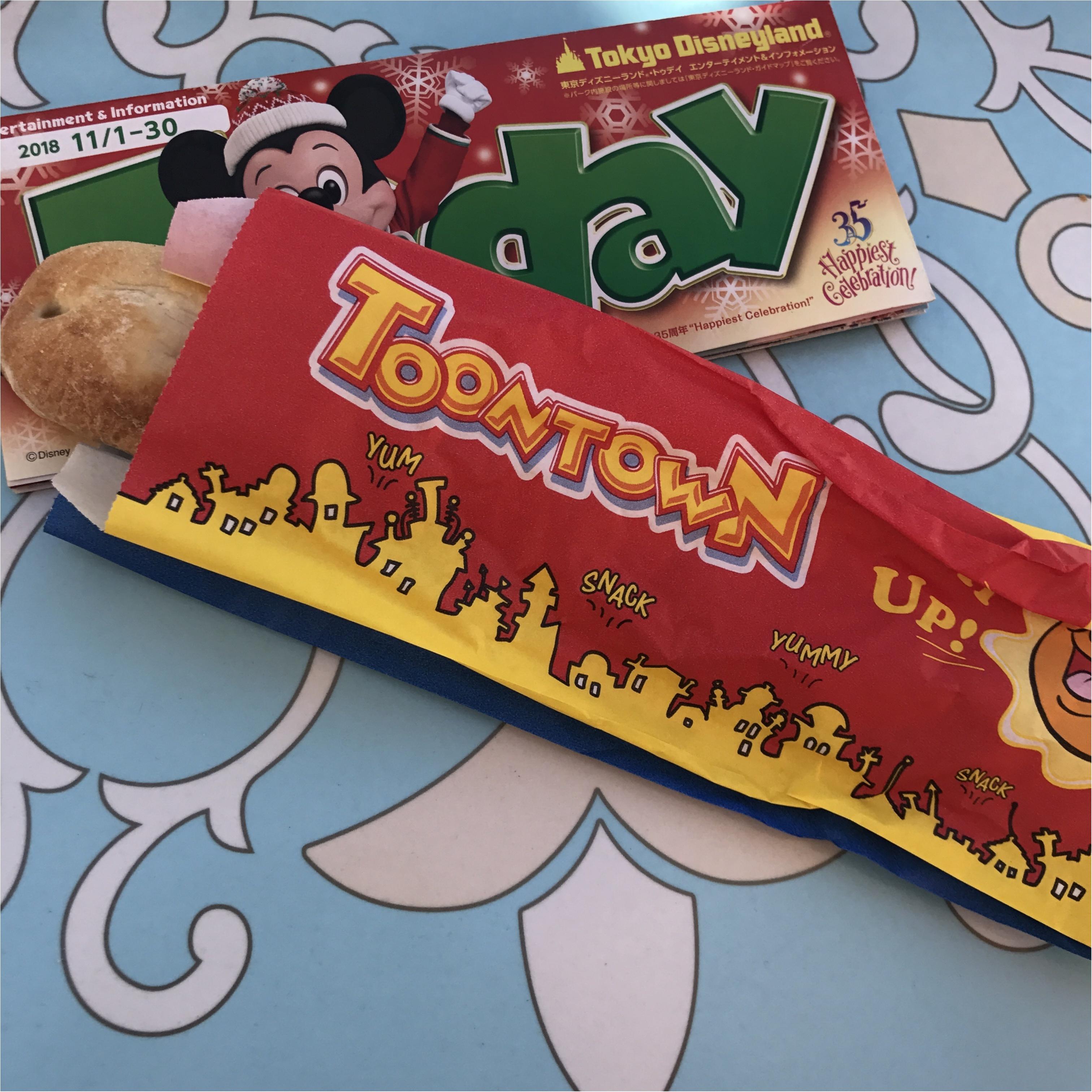 【Disney Land Xmas!】35周年&クリスマスシーズンの食べ歩きフード_2