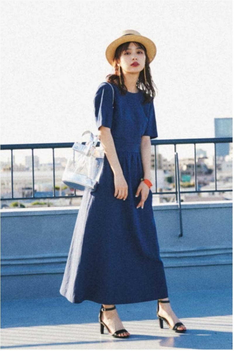 日焼け防止のマストアイテム 【帽子】の今どきコーデ15選   ファッションコーデ_1_4