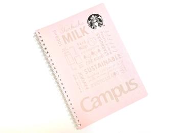 【スタバ】コクヨコラボのノートがエコでかわいかったから買ってみた。