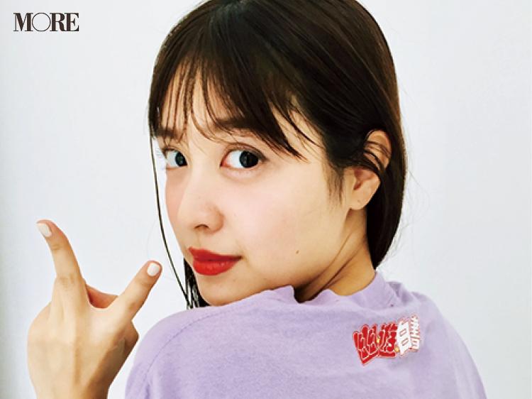 松本愛の私服を公開! Tシャツにあの大人気漫画がプリント♡【モデルのオフショット】