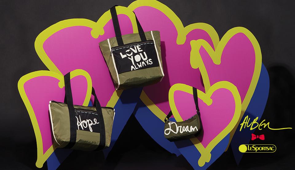 ハッピーになれるバッグといえば……♡『アルベール・エルバス × レスポートサック』コラボ第3弾発売中!_3