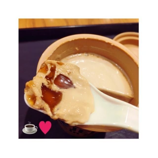 【スタバ】\\New!!!//キャラメルプリンwithコーヒージェリーを食べてきました❤️_5