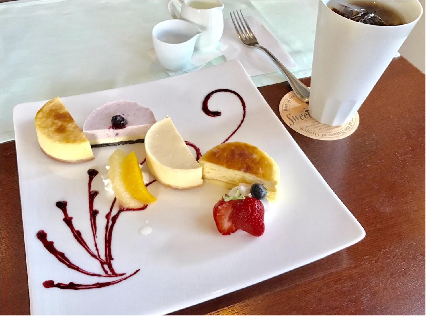 チーズケーキ好きのあなたに。名古屋CAFE《スイート オブ オレゴン》_3