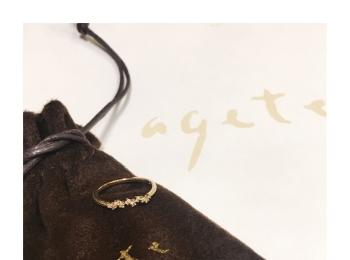 《around27歳》もうすぐボーナス…★手元から女度ぐんとUP!【agete(アガット)】のリングが可愛すぎる❤️