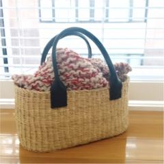 【コレ買っちゃいました!】『ムーニュ』のかごバッグ