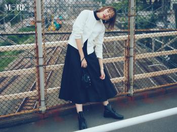 『アニエスベー』の定番を、私たちの定番に♡ 「カーディガンプレッション」を佐藤栞里が着こなし!