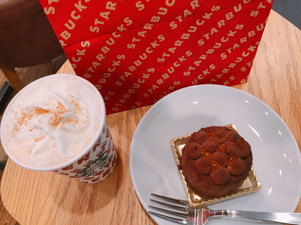 【スタバ】絶対食べて!新作クリスマスフード《ショコラディスカバリー》が絶品♡_5