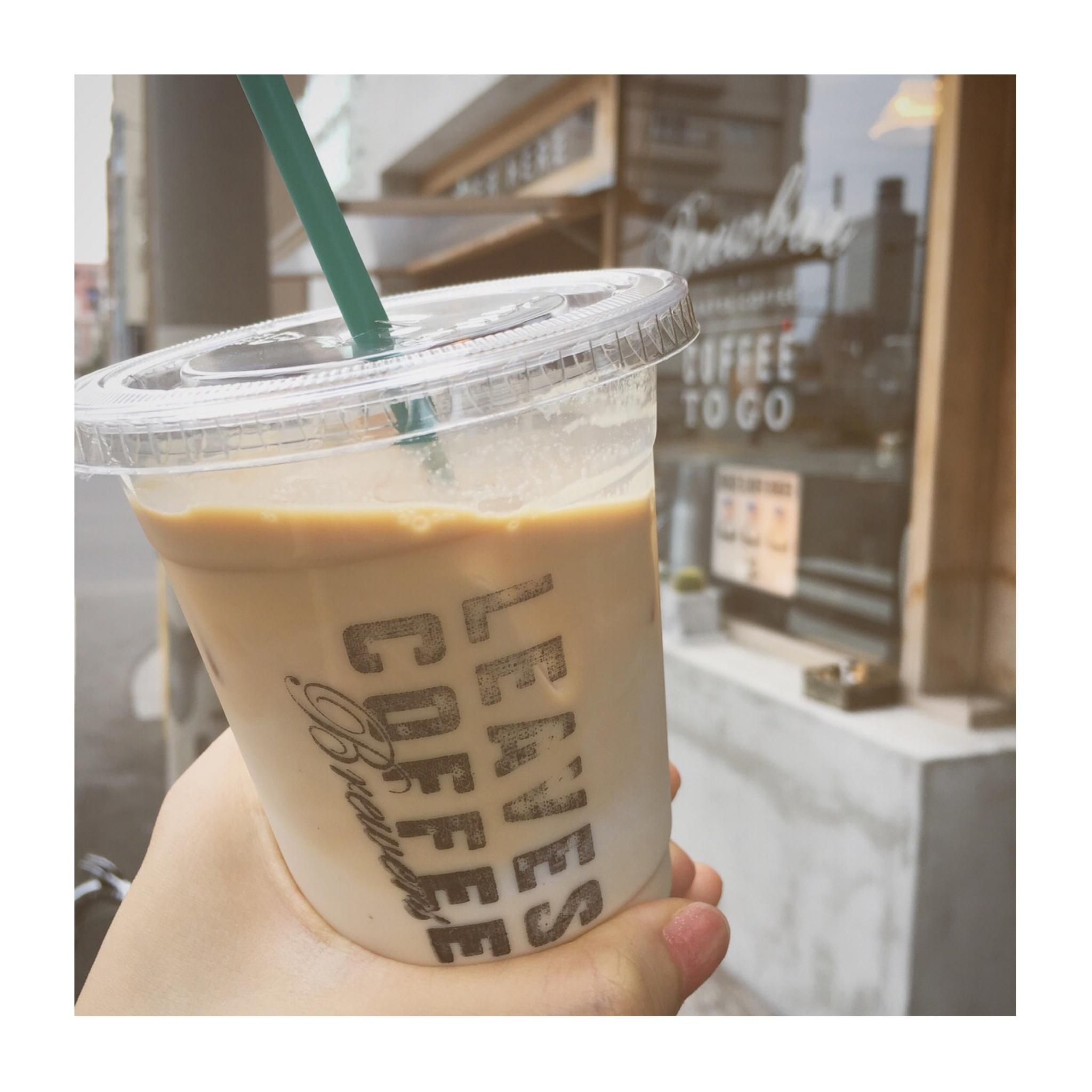 """《ご当地MORE✩東京》【蔵前】で寄りたい!本格的でお洒落なコーヒースタンド""""LEAVES COFFEE APARTMENT""""に行ってきました✌︎❤️_4"""