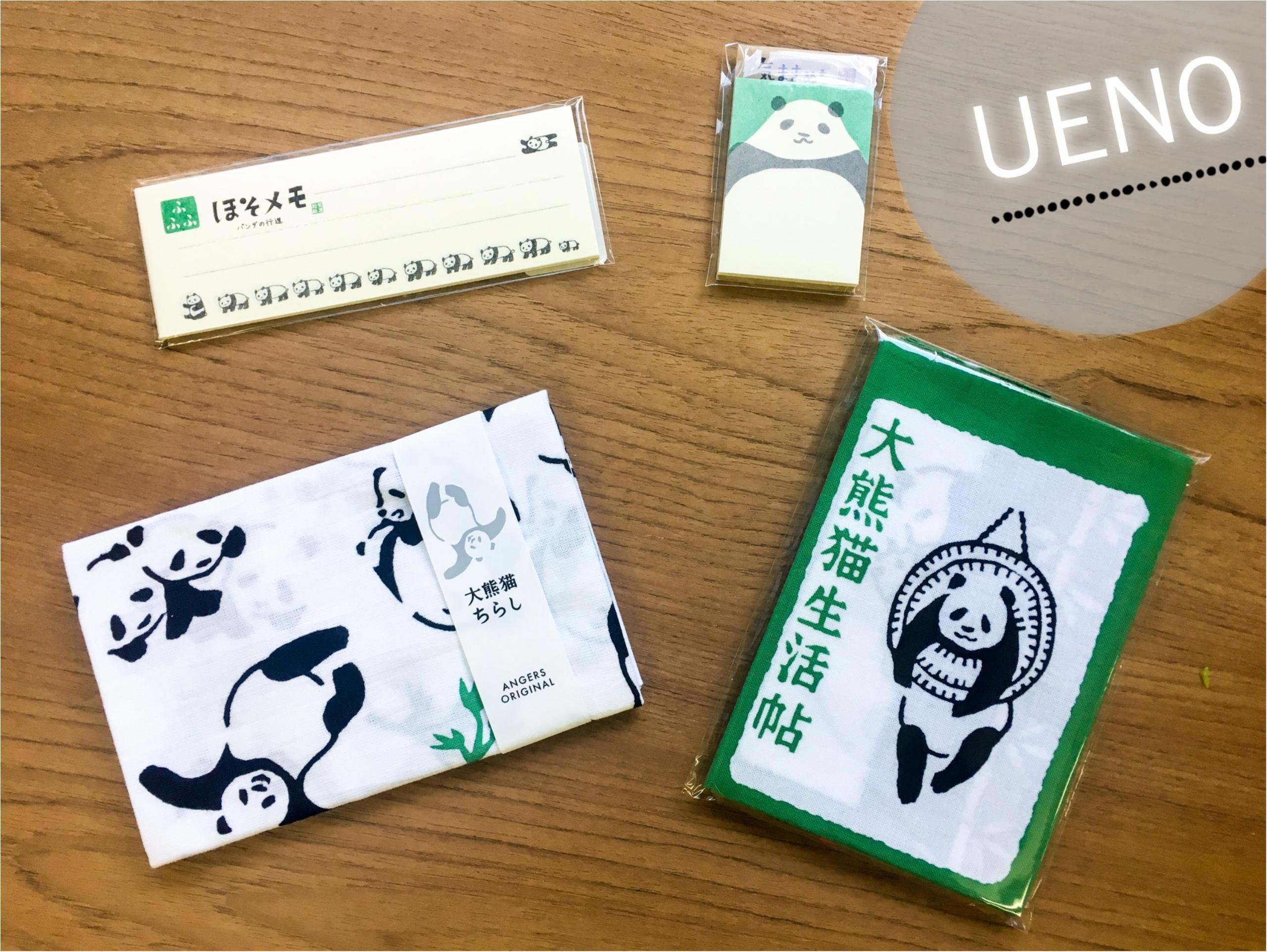 【上野/シャンシャン公開記念❁】上野駅・駅ナカでGETできるパンダグッズがとってもキュート♡♡_1