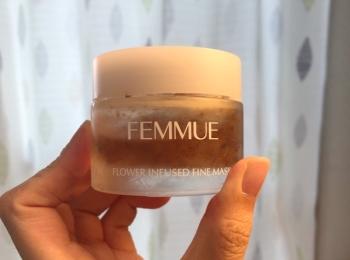 おうち時間を楽しもう♡ FEMMUEのフラワーインフューズドファインマスクをゲットしてみた!