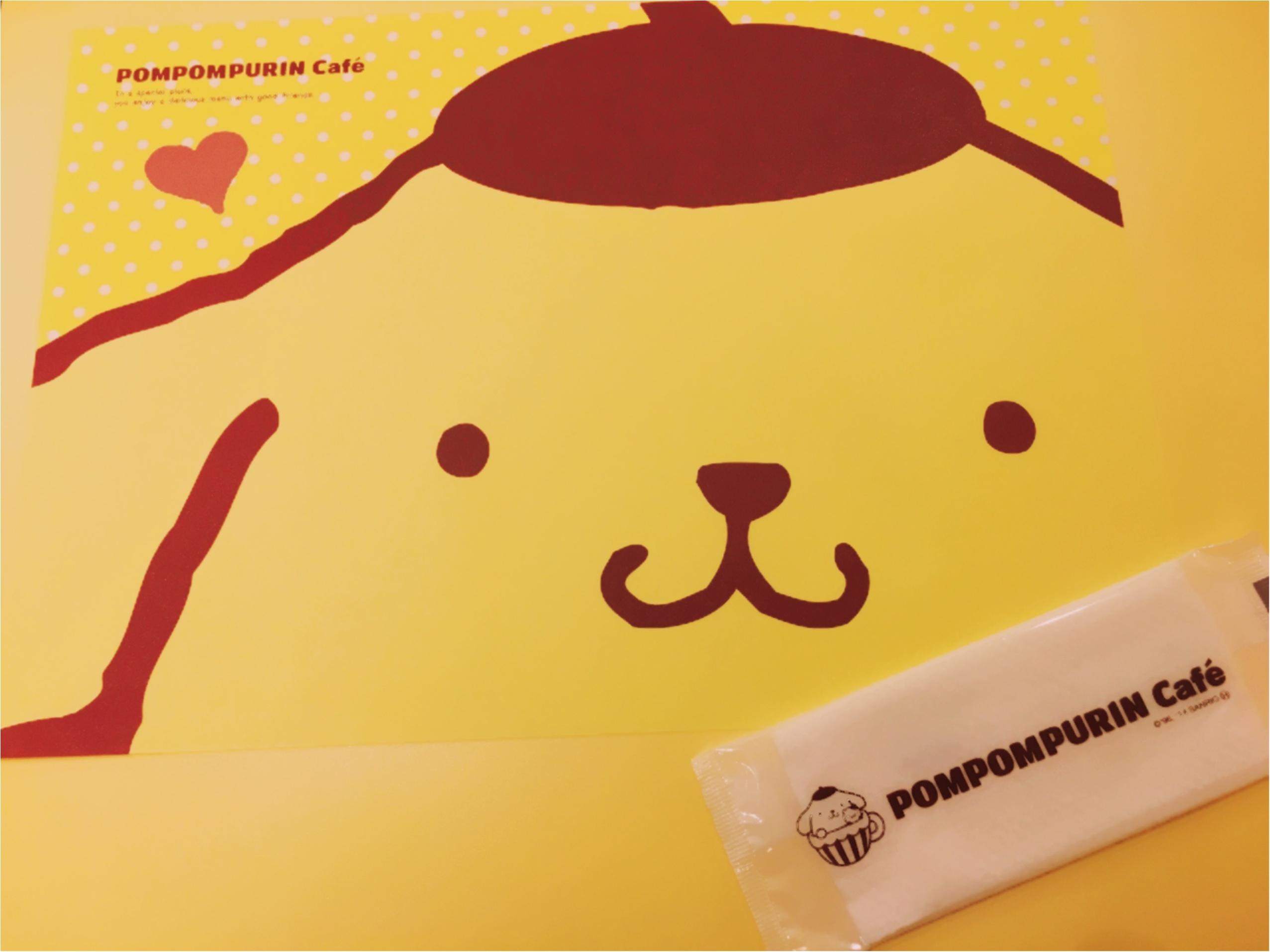 メニューリニューアル!かわいいかわいいポムポムプリンカフェに行ってきた♡♡_2