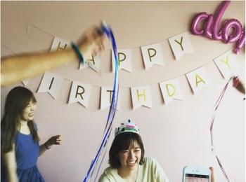 しーちゃん(佐藤栞里ちゃん)お誕生日おめでとう♡【撮影のオフショット】
