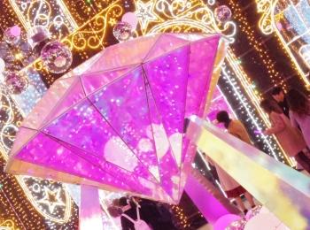 【ドラマ「ダメ恋」のロケ地】イルミネーションならさがみ湖イルミリオン