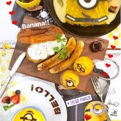 【FOOD】夏休みのおでかけに!怪盗グルーのミニオン大脱走 #ミニオンカフェ に行ってきました★