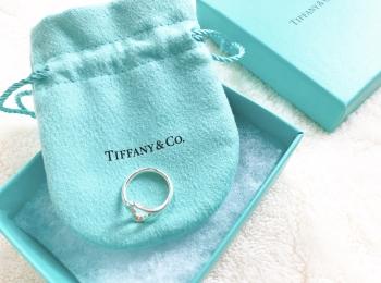 【Tiffany & Co.】毎日一緒!オープンハートのリングがスタメン仲間入り♡