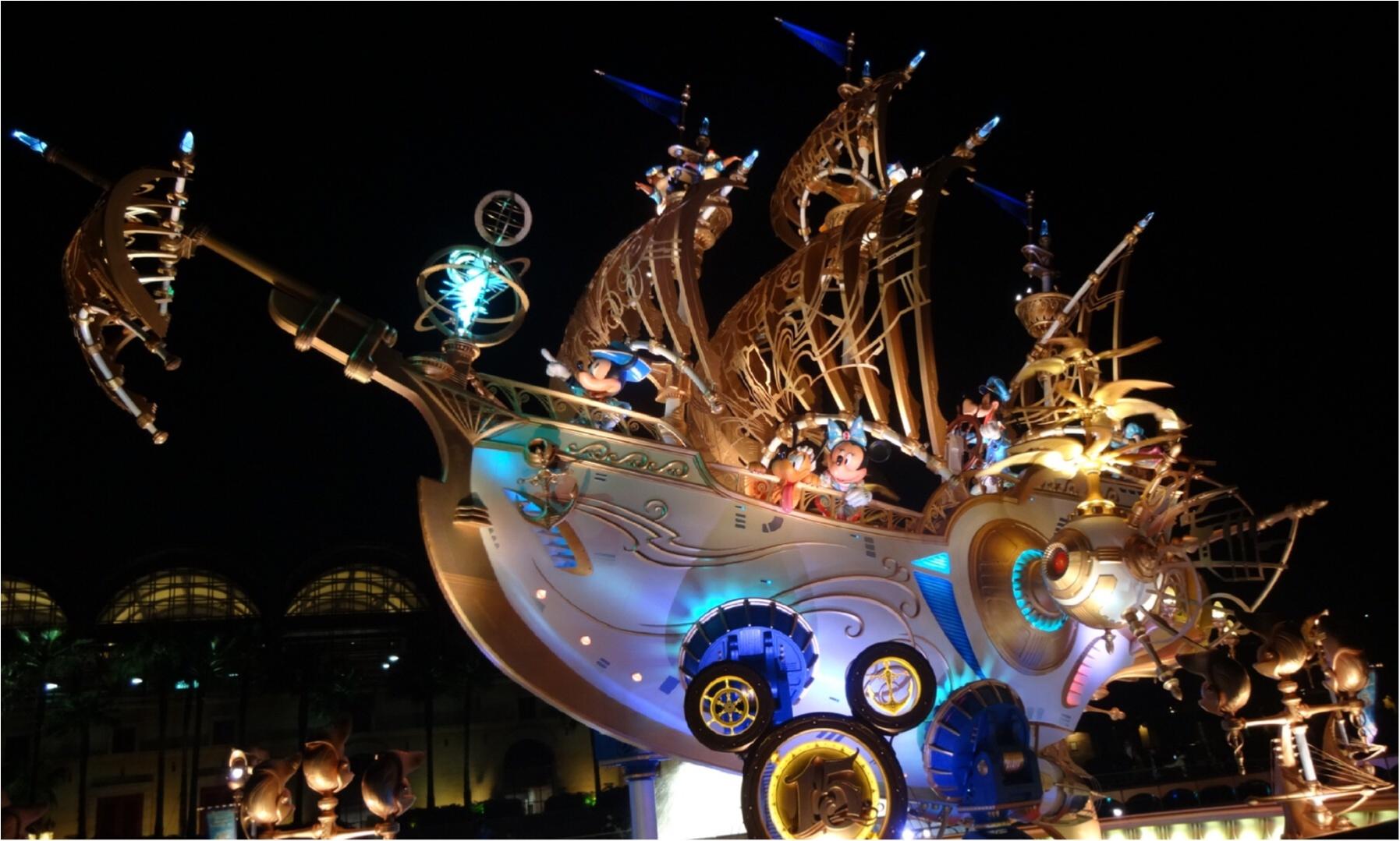 ユニクロUTでおそろコーデをして15周年の東京ディズニーシーへ行って来ましたー♬_11