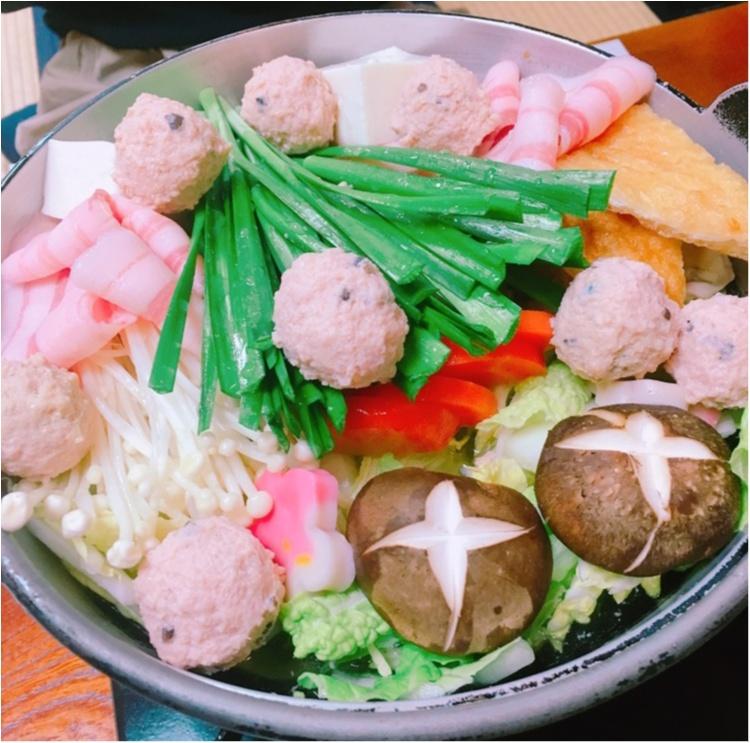 《冬といえばお鍋♡》相撲茶屋で絶品ちゃんこ鍋をいただきました♡_3