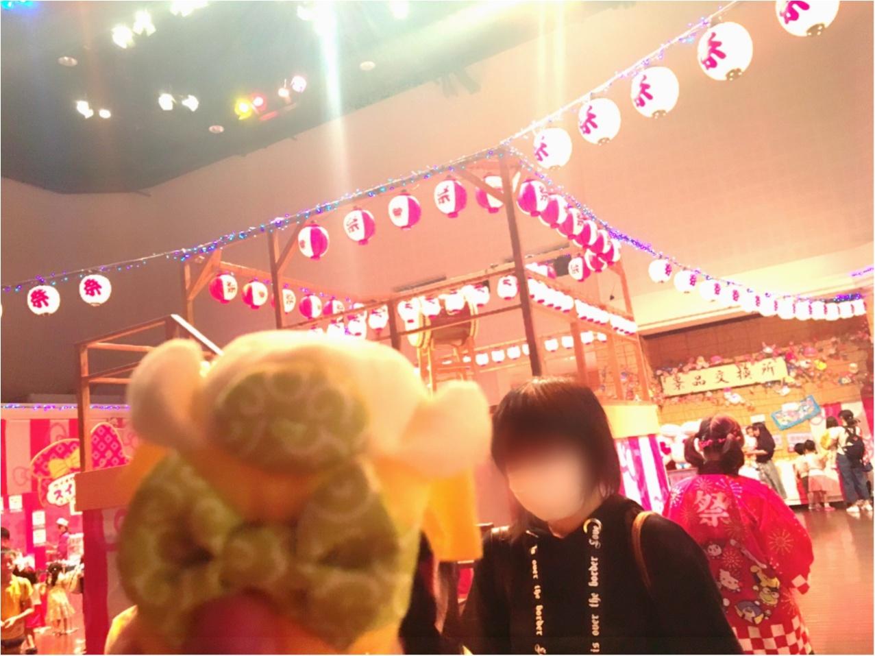 サンリオピューロランドの夏祭り!クロミちゃんがアルバイト!?▽・ω・▽_1