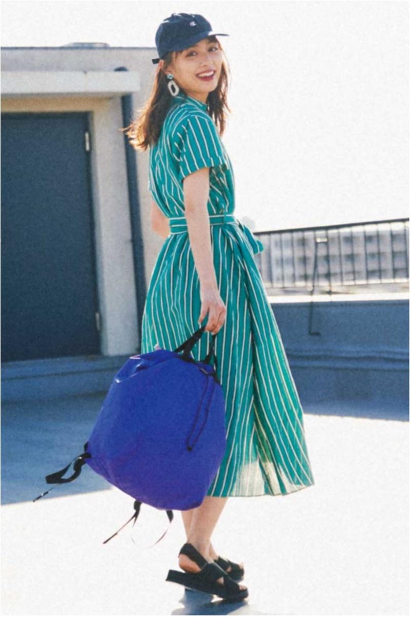 日焼け防止のマストアイテム 【帽子】の今どきコーデ15選   ファッションコーデ_1_6